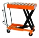 Hydraulic Scissor Roller Top Lift Table Cart | 660 lb | TF30R