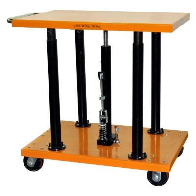 Center Post Hydraulic Lift Table | 2200 lb | PT-20-2436