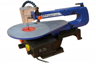 "16"" SCROLL SAW WITH FOOT PEDAL - SCROLL SAWS  
